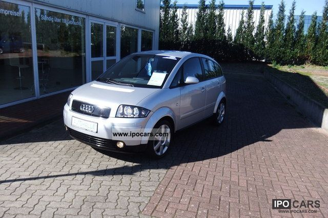 2001 Audi  A2 1.4i automatic air conditioning ** **** stands for torture Van / Minibus Used vehicle photo