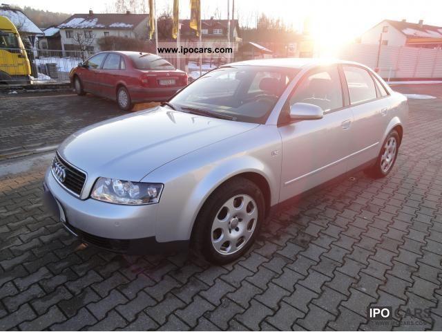 2001 Audi  A4 3.0 Navi-Plus CD changer Bose sound Limousine Used vehicle photo