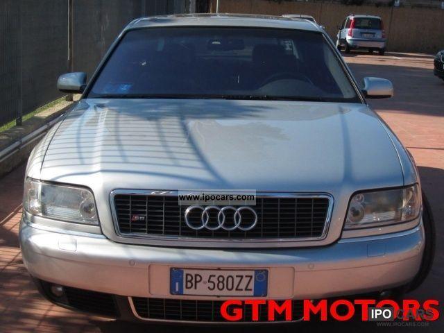 2001 Audi  S8 4.2 V8 Quattro 40V Cat con impianto gpl Limousine Used vehicle photo