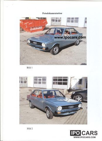 Audi  80 LS Automatic, 1.Hand, original 1975 Vintage, Classic and Old Cars photo