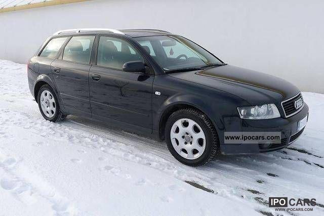 2002 Audi  A4 130 KM 6 BIEGOW Estate Car Used vehicle photo