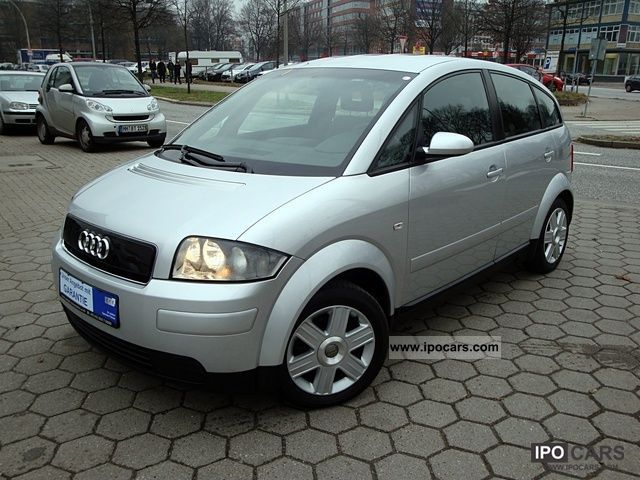 2002 audi a2 1 4 tdi klimaaut aluminum 2 5 speed manual car photo and specs. Black Bedroom Furniture Sets. Home Design Ideas