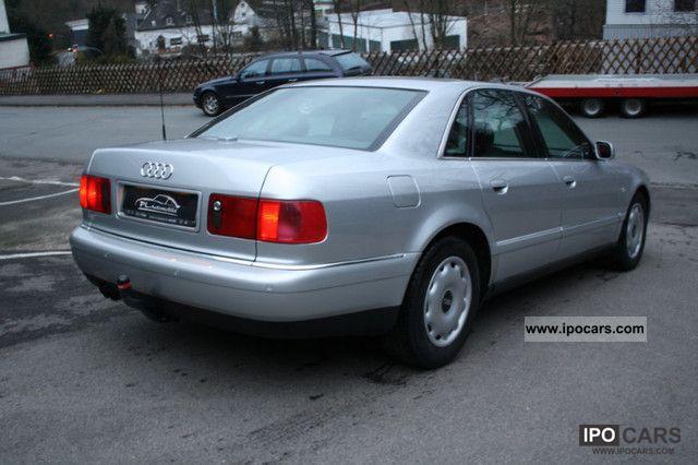 2002 Audi A8 3 7 Quattro Full Equipment And Checkbook Car Photo And Specs