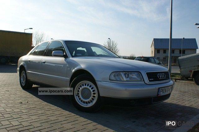 2001 Audi  A8 bezwypadkowy-navi-tv-jak nowy Limousine Used vehicle photo