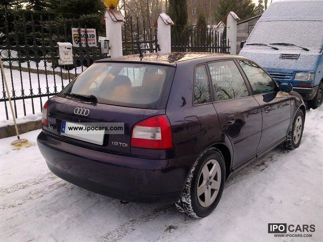 2001 audi a3 ambition car photo and specs. Black Bedroom Furniture Sets. Home Design Ideas