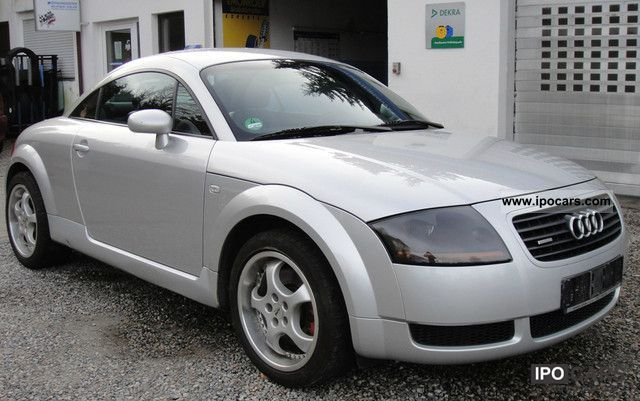 2000 audi tt coupe 1 8 t quattro 224 hp leather aluminium. Black Bedroom Furniture Sets. Home Design Ideas