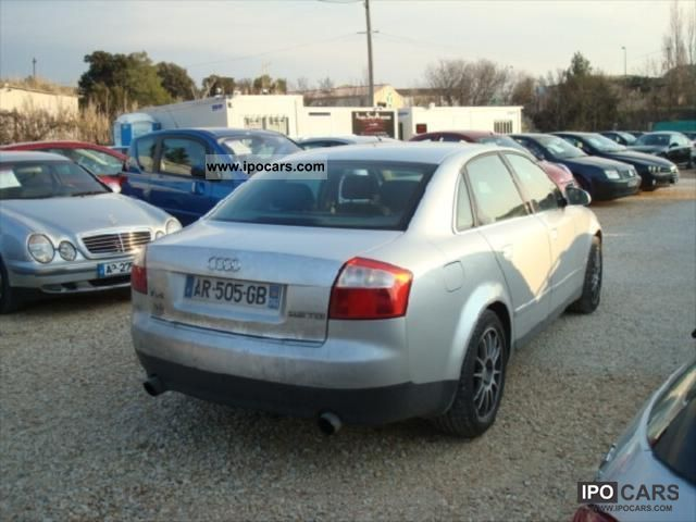 2002 audi a4 2l5 tdi v6 163 cv pack car photo and specs. Black Bedroom Furniture Sets. Home Design Ideas