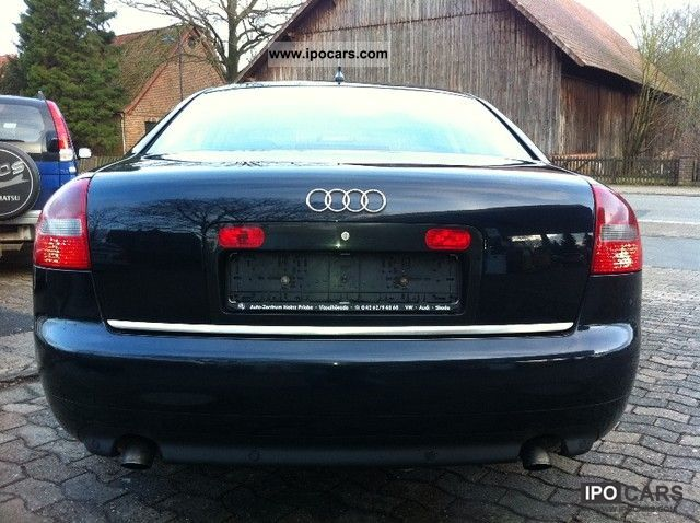 2003 audi a6 2 5 tdi quattro car photo and specs. Black Bedroom Furniture Sets. Home Design Ideas