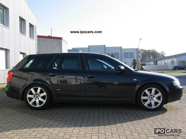 Audi A4 2.0 T Quattro >> 2003 Audi A4 2.5 TDI S-Line Black Edition - Car Photo and ...