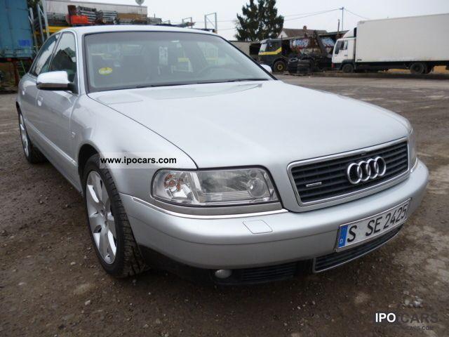 2002 Audi  A8 2.5 TDI quattro ~ ~ ~ 174Tkm Full checkbook ~ Limousine Used vehicle photo