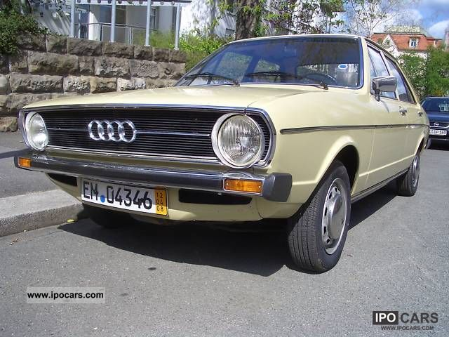 Audi  80 1975 Vintage, Classic and Old Cars photo