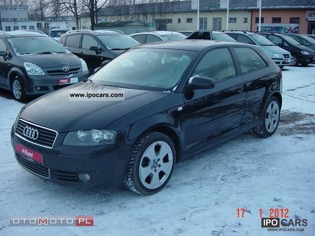 2003 audi a3 2 0 tdi 140 km car photo and specs. Black Bedroom Furniture Sets. Home Design Ideas