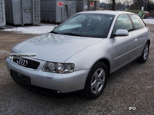 2001 Audi  A3 S31.8 T * air automation, ESP, leather sports, EURO4 * Limousine Used vehicle photo