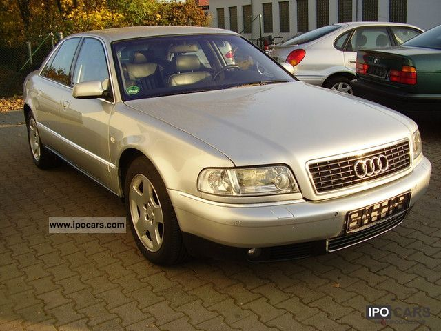 2000 audi a8 4 2 quattro version very long maintained car photo and specs. Black Bedroom Furniture Sets. Home Design Ideas