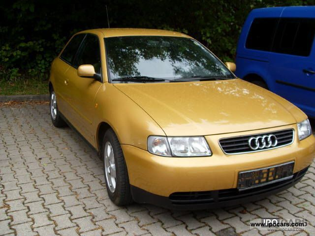 2000 audi a3 ambition car photo and specs. Black Bedroom Furniture Sets. Home Design Ideas