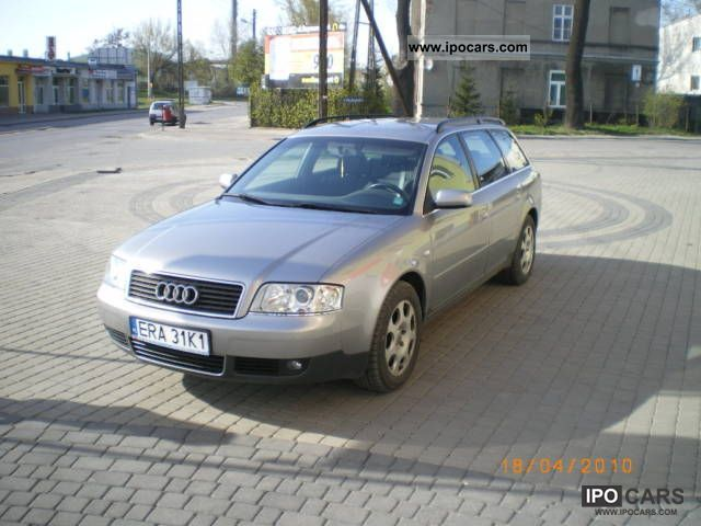 2002 Audi  A6 QUATTRO 2.5 TDI 180 hp Estate Car Used vehicle photo