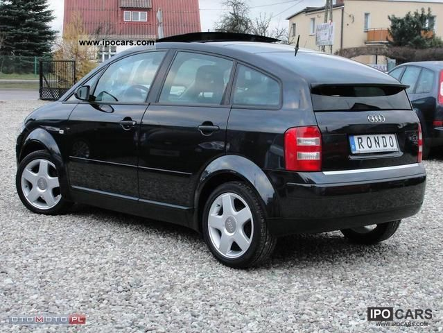 2003 audi a2 1 4 tdi 75 km panoramic roof car photo and specs. Black Bedroom Furniture Sets. Home Design Ideas