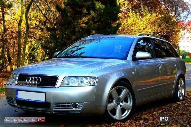 2003 Audi  * A4 TDI, climatron, ALU 17 &, ZARJSTR Estate Car Used vehicle photo