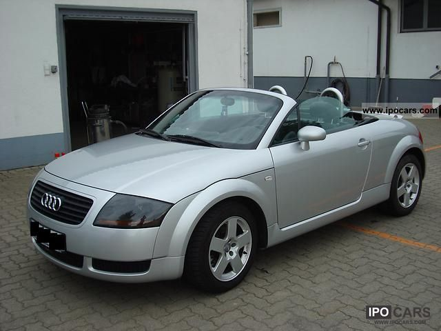 2000 Audi  TT Roadster 1.8 T Cabrio / roadster Used vehicle photo