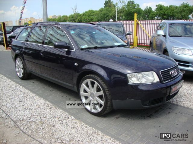 2001 Audi  A6 BEZWYPADKOWY, AUTOMATIC, Skora, climate control Estate Car Used vehicle photo