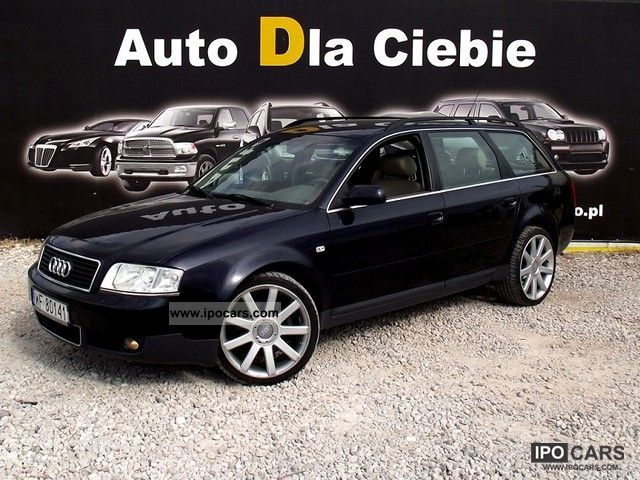 2001 Audi  A6 A6 3.0 - 220KM, BEZWYPADKOWY Estate Car Used vehicle photo