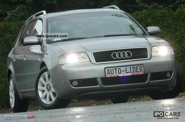 2003 Audi  A6 AIR TRONIC! ALU! 1.9 TDI! Estate Car Used vehicle photo