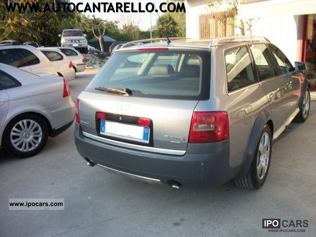 2003 audi allroad quattro 2 5 tdi 180 cv multitronic car photo and specs. Black Bedroom Furniture Sets. Home Design Ideas