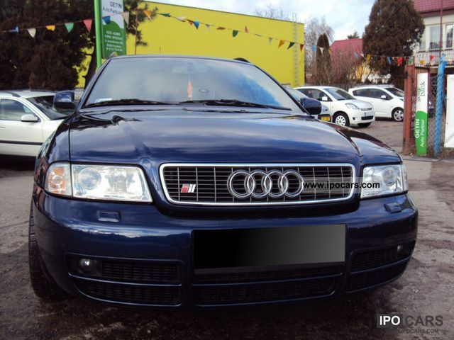 1998 Audi S4 Car Photo And Specs
