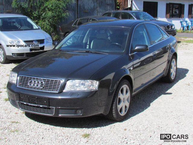 2001 Audi  S6 4.2 quattro * Full white leather, xenon, Winterber * Limousine Used vehicle photo