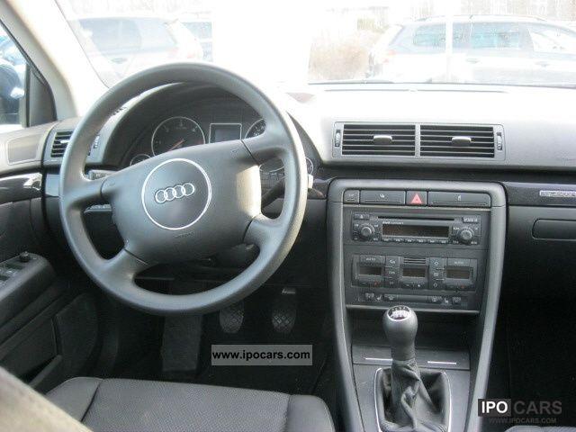 2004 Audi A4 Avant 2 5 Tdi Quattro Car Photo And Specs