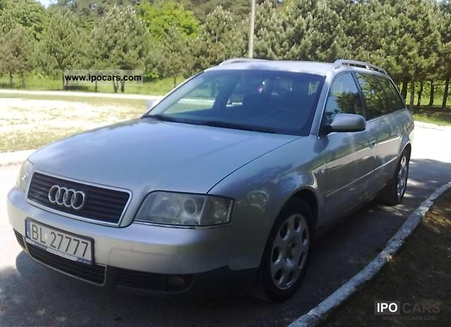 2002 Audi  A6 quattro 180KM Estate Car Used vehicle photo