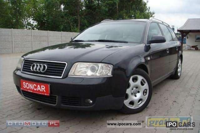 2002 Audi  NAVI XENON A6 + + +155 PARKTONIK KM Estate Car Used vehicle photo
