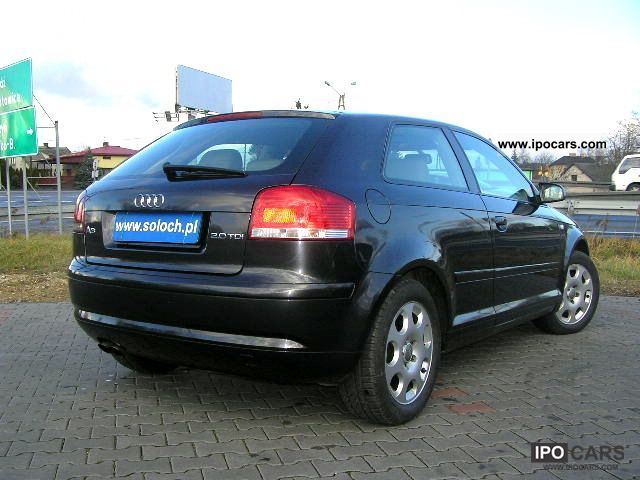 2003 audi a3 2 0 tdi klimatr bdb zobacz stan car photo and specs. Black Bedroom Furniture Sets. Home Design Ideas
