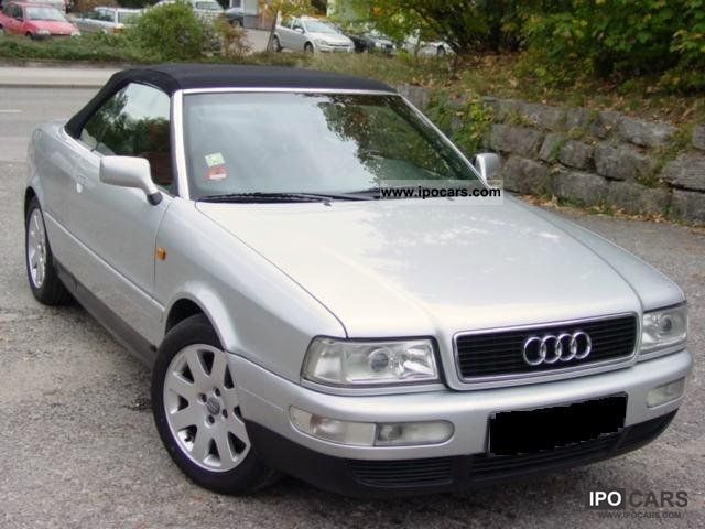 2000 Audi 80 1 9 Tdi Cabriolet Car Photo And Specs