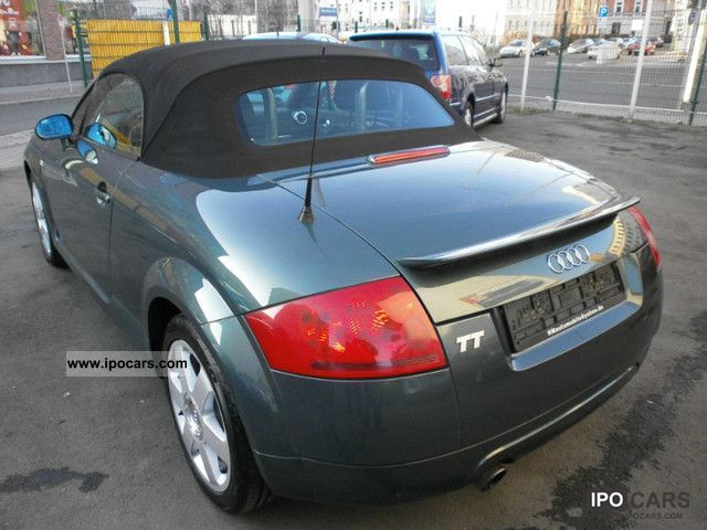 1999 audi tt roadster 1 8 t car photo and specs. Black Bedroom Furniture Sets. Home Design Ideas