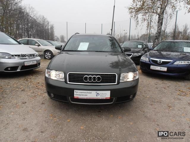 2002 audi a4 1 9tdi quattro 130km bezwypadkowa car photo and specs. Black Bedroom Furniture Sets. Home Design Ideas