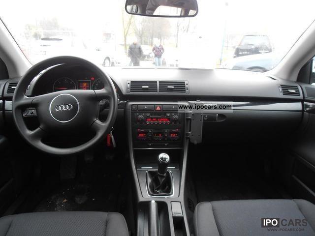 2002 audi a4 1.9tdi quattro 130km bezwypadkowa - car photo and specs