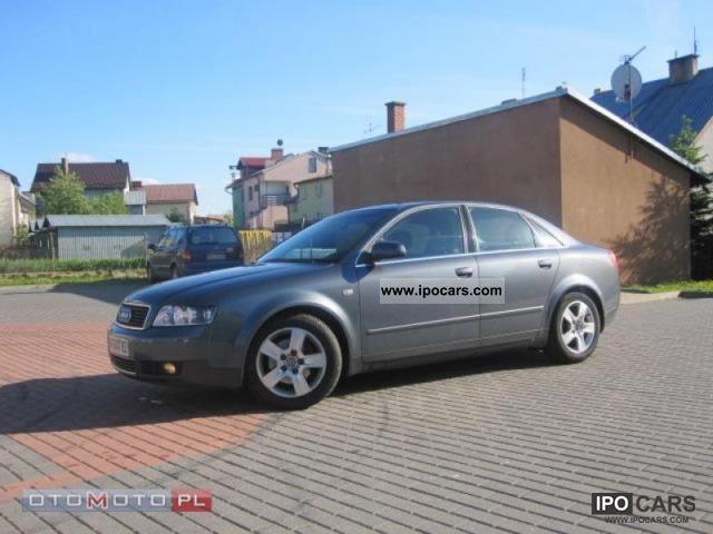 2001 Audi  ORIGINAL KM 185 A4 TYS, SERWIS Limousine Used vehicle photo