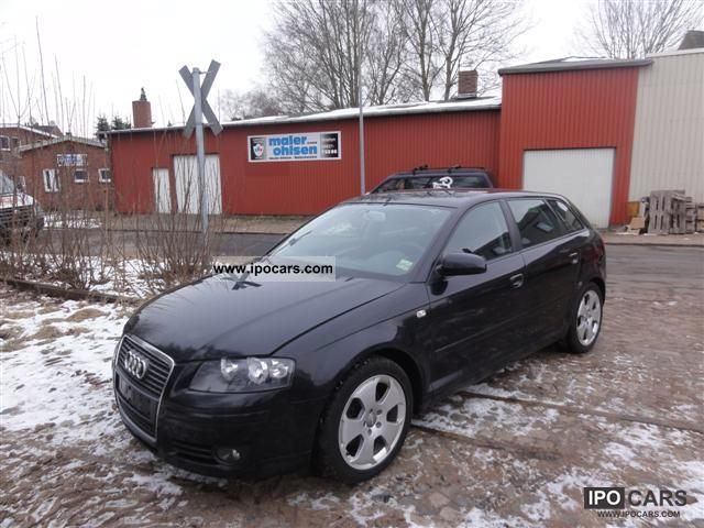 2005 audi a3 sportback 2 0 tdi dpf car photo and specs. Black Bedroom Furniture Sets. Home Design Ideas