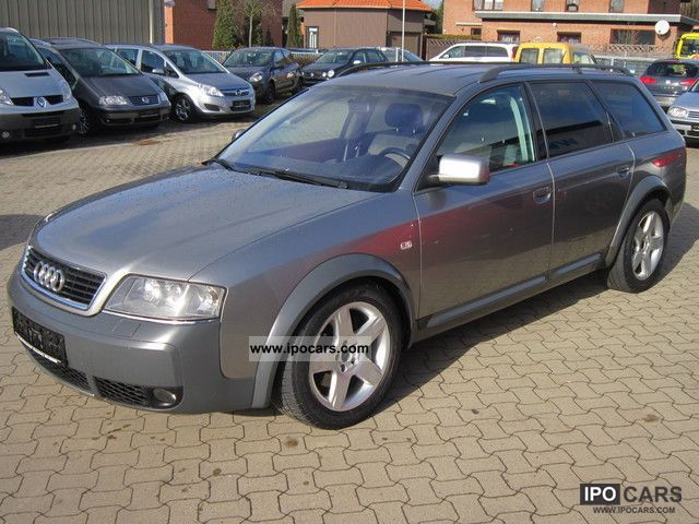 2003 audi 2 5tdi quattro allroad quattro tiptronic car photo and specs. Black Bedroom Furniture Sets. Home Design Ideas