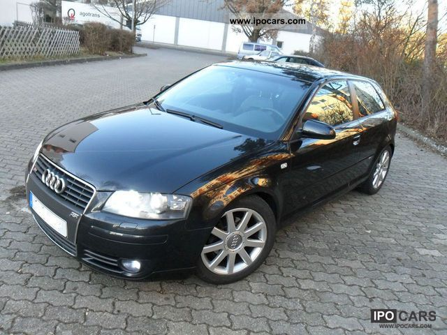 2004 audi a3 1 6 fsi s line sports package plus car photo and specs. Black Bedroom Furniture Sets. Home Design Ideas