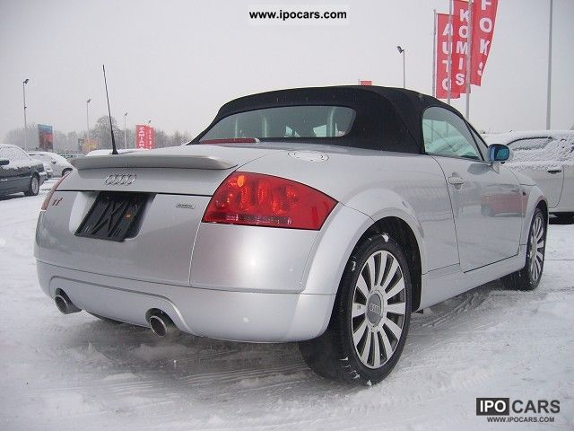 2001 Audi Tt Quattro Car Photo And Specs