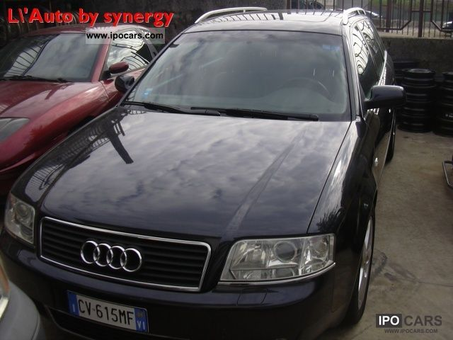 2003 audi a6 avant 2 5 v6 tdi cat car photo and specs. Black Bedroom Furniture Sets. Home Design Ideas