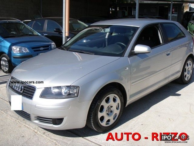 2003 Audi  A3 2.0 16V TDI Ambiente Limousine Used vehicle photo