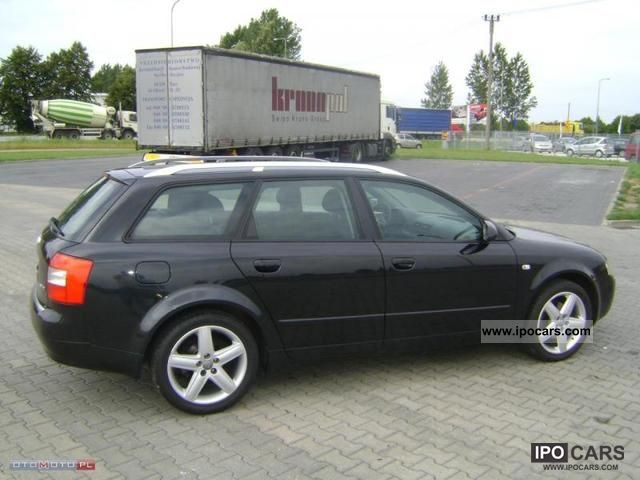 2004 audi a4 1 9 tdi 130 km czarne car photo and specs. Black Bedroom Furniture Sets. Home Design Ideas