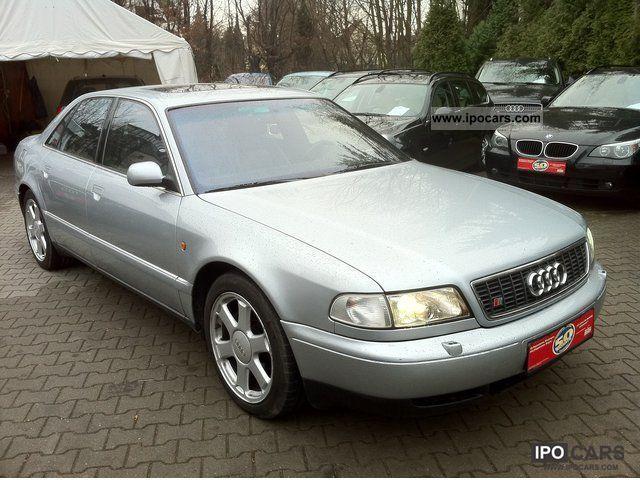 1999 Audi  S8 4.2 * Navi / leather / climate control / sunroof Limousine Used vehicle photo