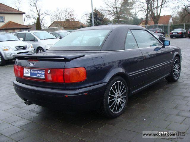 1998 Audi 80 Convertible Leather Shz Eletkr Hood Car
