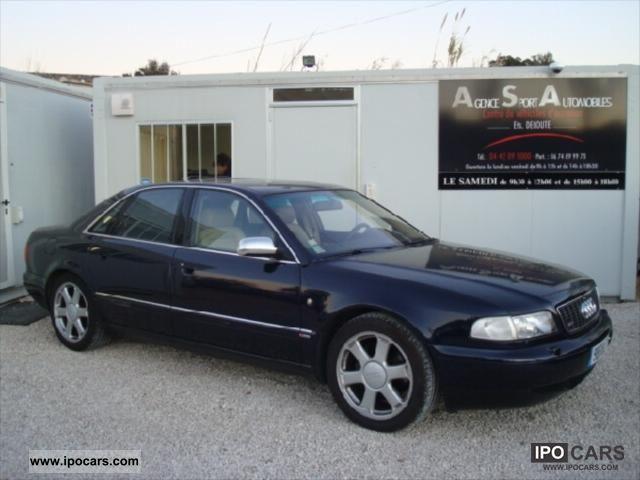 1998 Audi  S8 4.2i V8 QUATTRO TIPTRONIC Limousine Used vehicle photo