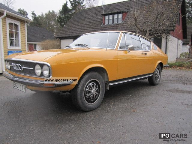 Audi  Very good original condition-S Coupe 1972 Vintage, Classic and Old Cars photo