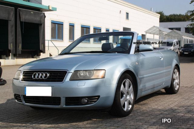 2003 Audi Convertible Car Photo And Specs